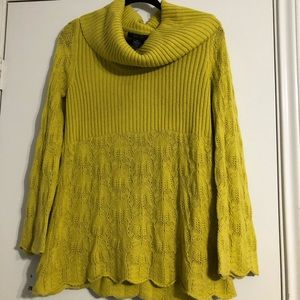 Style and co sweater with cowl neck